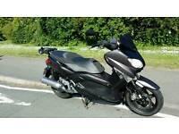 2012 yamaha XP 125 r x-max sport grey; legal learner; long MOT - till June 2017