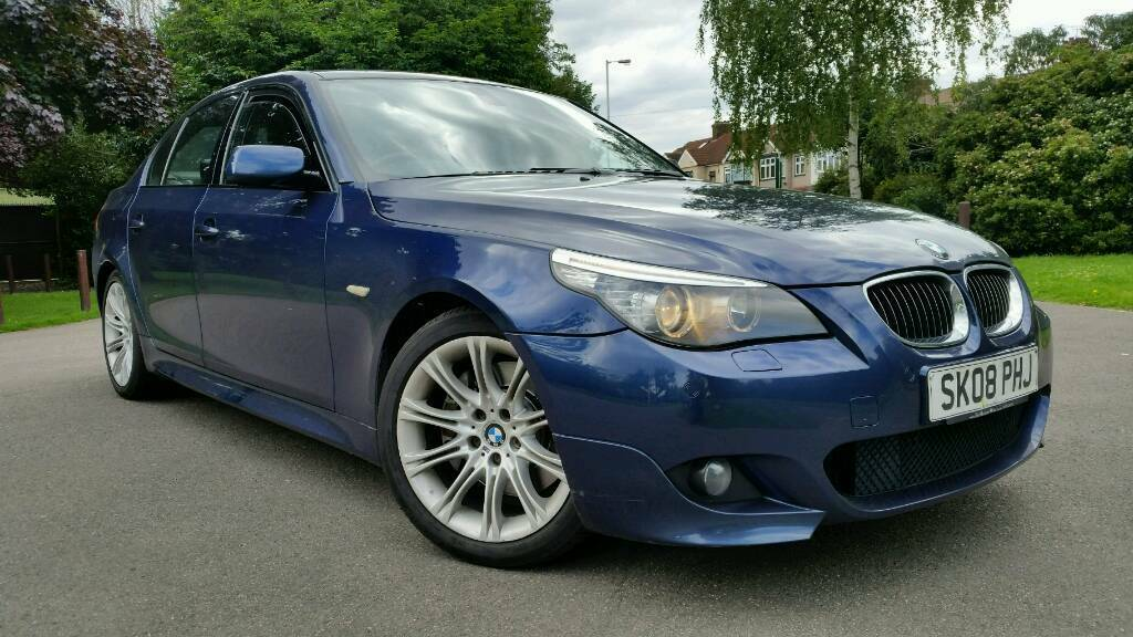 2008   Bmw 530i M Sport   4 Door Manual   Top Spec