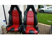 Land rover defender RX-8 leather seats