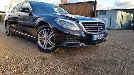 MERCEDES-BENZ S CLASS 3.0 S350 BLUETEC L SE LINE EXECUTIVE 4d AUTO 258 B (black) 2014
