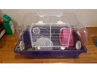 Hamster Small Rodent Cage with Accessories & Sawdust
