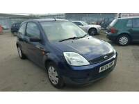 2004 Ford Fiesta 1.25 3 door hatchback blue
