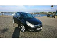 PERFECT CORSA 1.3 CDTI DIESEL BLACK 2007. WITH MOT READY TO GO