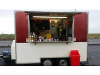 BURGER VAN CATERING TRAILER FOR SALE