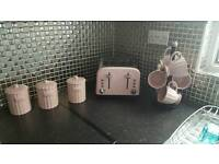 toaster canisters and cups