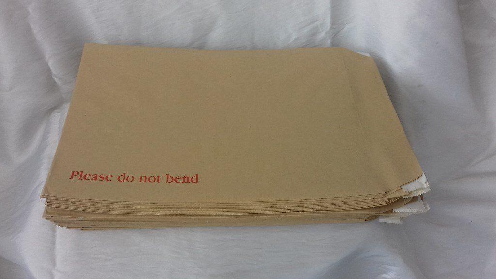 "48 Please Do Not Bend 12"" x 9"" Envelopes"