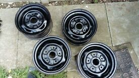 ford transit banded wheels