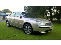 FOR SALE TOP OF THE RANAGE MONDEO GHIA WITH 12 MONTHS MOT