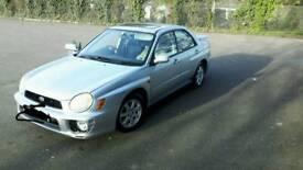 Subaru impreza auto 12 mot fsh very good condition