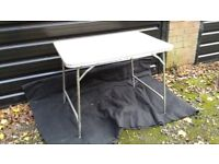 Vintage,....folding picnic table