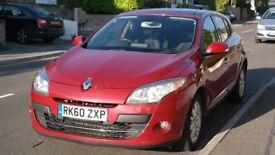 Renault Megane Privilege Tom Tom, 1.9dCi (130 bhp), Reg Dec 2010, Top Spec, Warranty to May '19