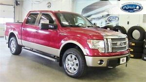 2012 Ford F-150 LARIAT  (Rear View Camera,Leather Heated Seats)