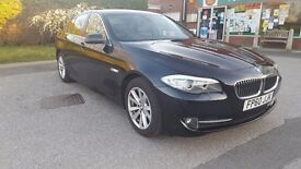 BMW 5 SERIES 2.0 520d SE 4dr £3000 OF EXTRAS.WIDESCREEN SAT NAV AUTOMATIC