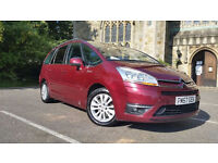 Citroen C4 Grand Picasso Automatic diesel 1.6 HDI Exclusive so the top specification
