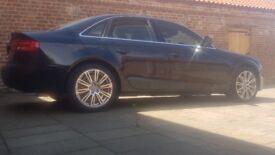 Audi A4 1.9tdi fsh sat nav 2keys parking sensors and camera lots of extras mint condition