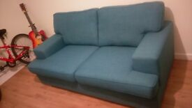 Vine 2 Seater Sofa - Teal from dfs!