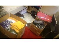 WHOLESALE T-shirts & polo's Lots of FREE Vinyl prints. Shirt Business Sale. Kids Shirts. £1 a shirt!