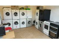 Washing machines and dryers fridge freezers