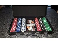 Cardinal 300 Poker Set in presentation case