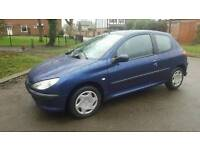 Peugeot 206 2004 blue 1 litre Very cheap to run & insure Perfect little run about