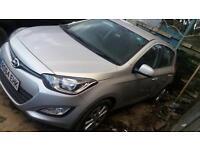 Hyundai I20 2014 64 Salvage rear damage