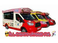 ICE CREAM VANS HIRE FOR CORPORATE EVENTS COMPANIES STAFF TREAT MR WHIPPY ICECREAM VANS