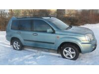 2003 nissan x trail sport 2.2 dci 4x4 tow bar fitted
