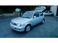 02 Nissan Micra 1.0 3 Door only 62000Mls low ins 2 keys great Driver ( can be viewed anytime