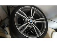 """Genuine 20"""" bmw alloy wheels"""