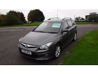 HYUNDAI I30 1.6 COMFORT CRDI Estate,2010,Alloys,Air Con,Full Service History,1 Previous Owner,60mpg