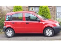Red Fiat Panda for Sale. £850. Open to offers. Must see.