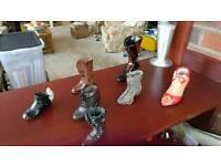 Various Elegant ornament boots. Make an offer