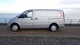 2007 Mercedes-Benz Vito 2.1 109CDI Dualiner Basic Extra Long Panel Van 5dr / 74K MILLAGE