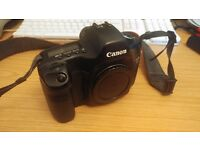 Canon EOS 5D Full Frame DSLR with New Shutter, 4 Batteries, Strap and Charger