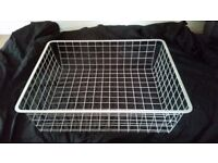 Ikea Antonius wire baskets x 8