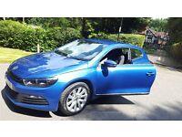 Great condition 2012 Rising Blue VW Scirocco 1.4 DSG TSi - Quick sale