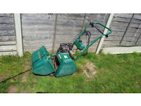 Qualcast 35s cylinder self propelled lawn mower