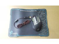 Dragonwar Thor ELE-G9 Ergonomic Professional Gaming Mouse - Mouse Mat Included