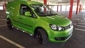 volkswagen caddy 1.6tdi (140 bhp) NO VAT!!!