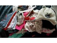 Girls bundle ( clothes and shoes) 18 -24 months , 2-3 years