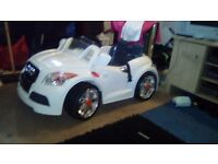 For sale ideal xmas gift kids audi eletric caar