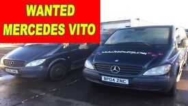 MERCEDES BENZ VITO !!!!! WANTED!!!