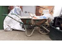 **GARDEN TOOLS**WHEEL BARROW**SOLID METAL**£5*OTHER TOOLS AVAILABLE**