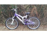 Ladies Bicycle for sale hardly used