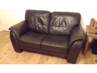 2 Leather Sofas for quick sale