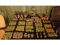 Warhammer 40,000 Ork Army £400 Including a Stompa, and a limited edition Kustom Battle Fortress