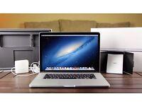 "2.3Ghz QuadCore i7 15"" RETINA Apple MacBook Pro 8GB 256GB SSD DaVinci Resolve Logic Pro X Pro Tools"