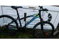 Btwin mountain bike for sale good clean condition it has got 26 inch 21 speed gears I'm after £60