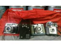 Old and antique cameras