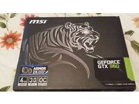 SWAP-- GTX 960 4GB OC TIGER GRAPHICS CARD --SWAP
